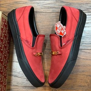 VANS CLASSIC SLIP-ON VANS ID CHILI PEPPER wmns